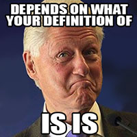 ClintonIsIs